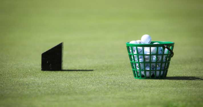Golf Practice Diary: Pick A Go To Shape