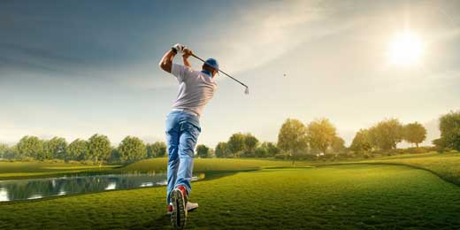 good golfer