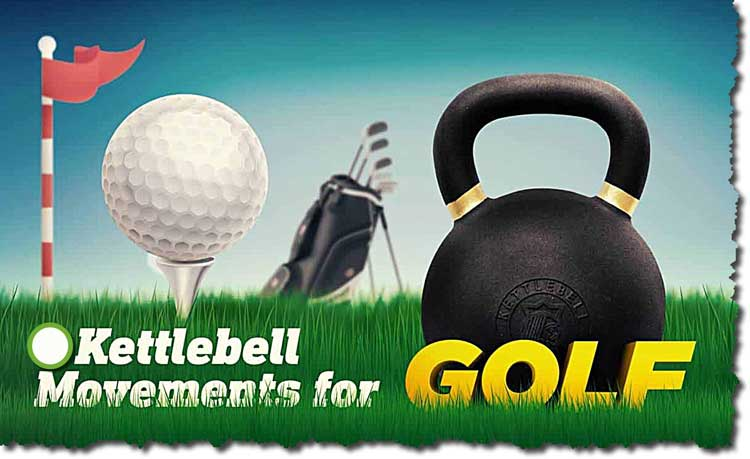 Kettle Bell Golf Workout Drill: Hit The Ball Further