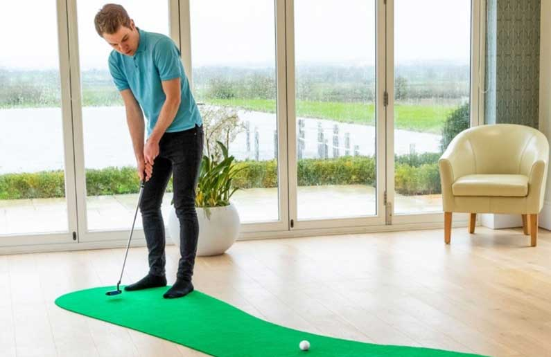 101 Ways To Practice Golf At Home