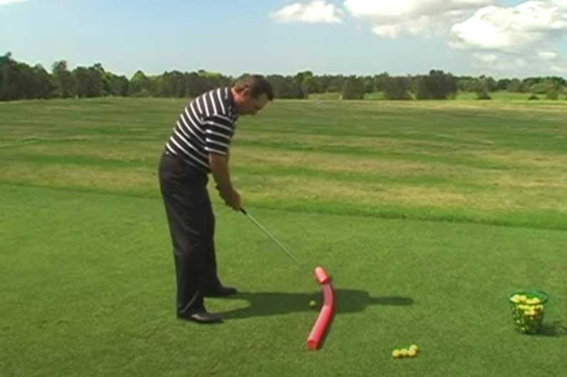 Anti Slice Downswing Drill: Stop Coming Over The Top