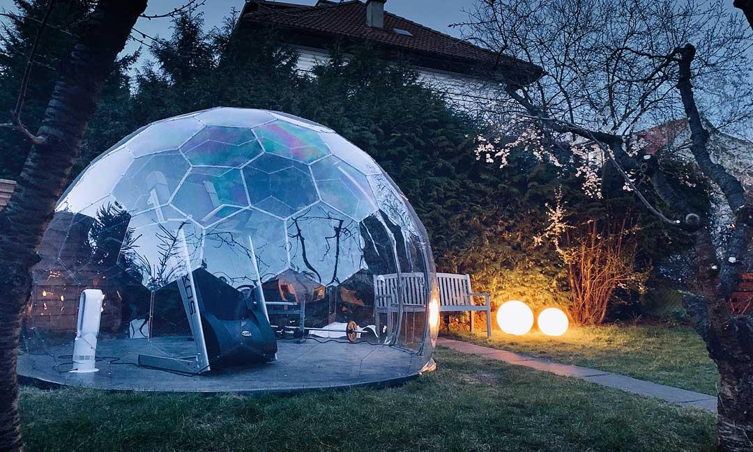 Garden Gym HypeDome: Stunning Luxury Home Gym