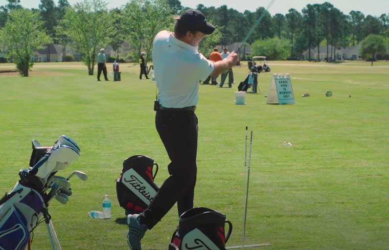 Nick Faldo Low Scope Fade Drill: When The Heat Is On