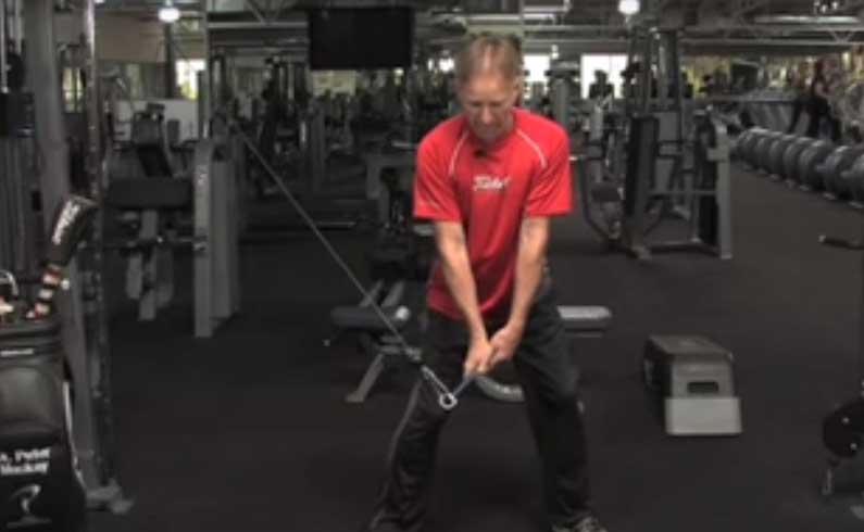 Isometric Golf Swing Drill: Dynamic Impact