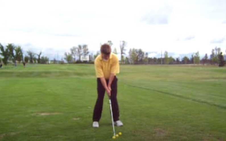 three ball golf drill