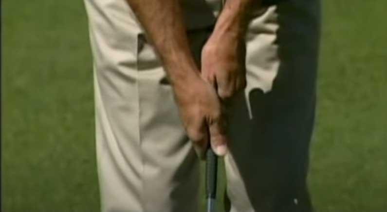 weak left hand wedge drill
