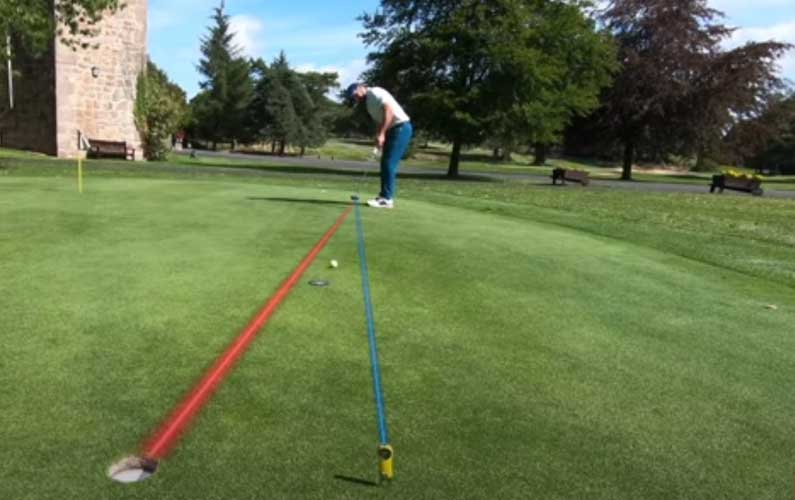 Green Reading Targeting Drill: Hole More Putts