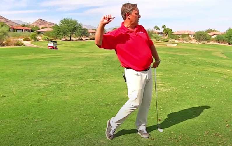 Golf Transition Drill