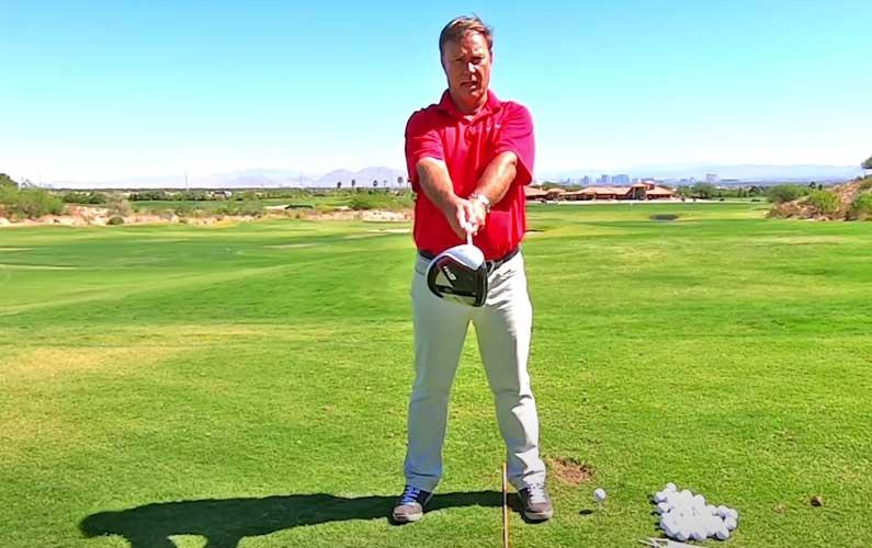 Rotational Golf Swing Feel Drill