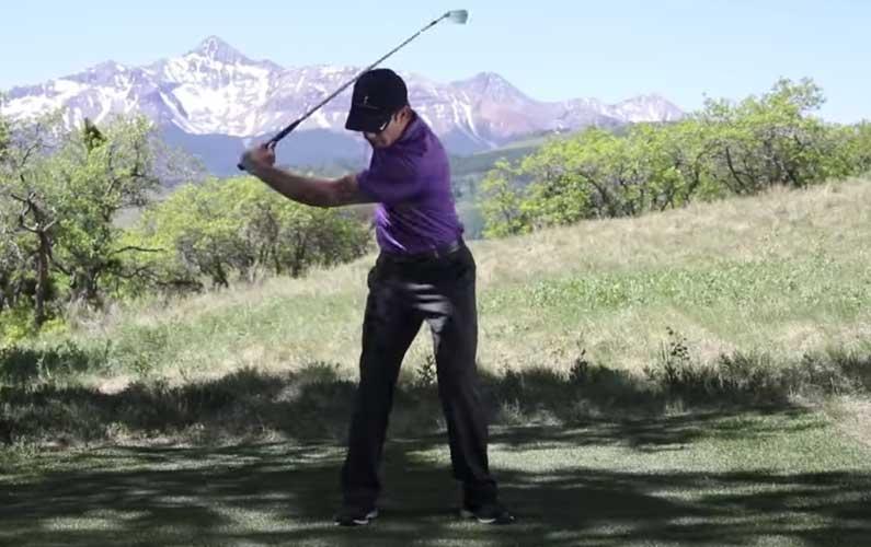 Triple Lag Drill: Left Arm Only Swings