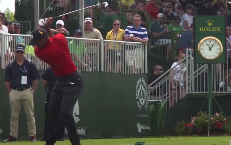 Tiger Woods Hip Drill