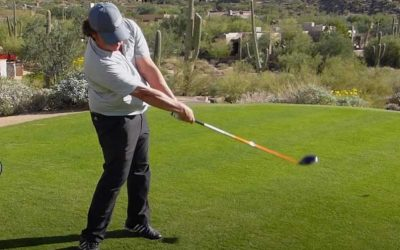 Lightning Hands For More Distance Golf Drill